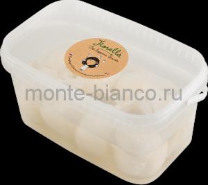 Сыр Fiorella Буррата 47%, 8х100г, 8х150г, 6х200г, Россия