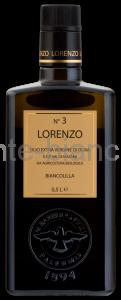 Масло оливковое Barbera Lorenzo №3  DOP Organic Extra Vergine, Италия
