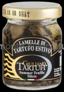 Трюфели Giuliano Tartufi черные резанные (слайсы), Италия