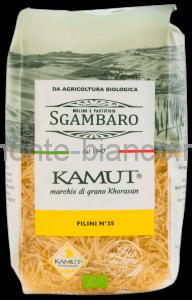 Макаронные изделия Sgambaro BIO Kamut Филини №35, Италия