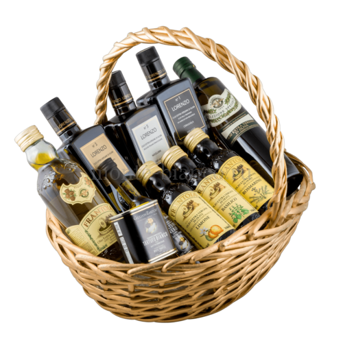 Подарочная корзина Масло оливковое