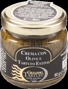Крем Giuliano Tartufi с оливками и черным трюфелем, Италия
