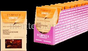Эко-чипсы EcoSpace овощные Батат-Французские травы EXOTIC, Россия