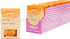 Эко-чипсы EcoSpace фруктовые Манго-Кокос EXOTIC, Россия