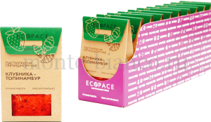 Пастилки EcoSpace на гречишном чае Клубника -Топинамбур EVERY DAY, Россия