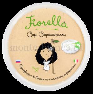 Сыр Fiorella Страчателла 47%,200 г, Россия
