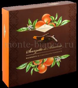 Цукаты Condorelli Апельсин в темном шоколаде 250 г, подарочная коробка Италия