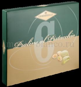 Конфеты Condorelli Пралине из белого шоколада с начинкой фисташка 120 г, подарочная коробка Италия