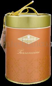Конфеты Condorelli Торрончини нуга в ассортименте 7 видов 150 г, подарочная жестяная банка Италия
