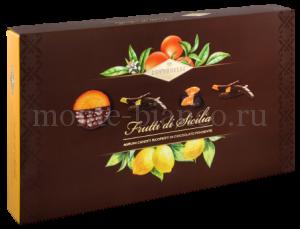 Цукаты Condorelli Цитрусовые в темном шоколаде 320 г, подарочная коробка Италия