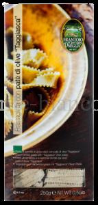 Макаронные изделия Sant'Agata d`Oneglia из твердых сортов пшеницы Frastagliata яичные с паштетом из оливок сорта «Таджаска», Италия