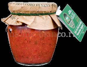 Соус Sant'Agata d`Oneglia томатный с оливками Таджаска без косточки, Италия