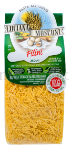 Макаронные изделия Luciana Mosconi  Филини яичные, Италия