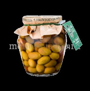 Оливки сорта Таджаска Sant`Agata d` Oneglia целые в рассоле, Италия 300 г