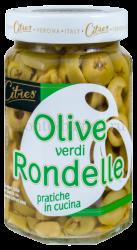 Оливки зеленые Citres без косточки резаные , Италия