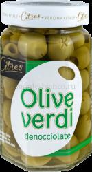 Оливки зеленые Citres без косточки Verdi, Италия